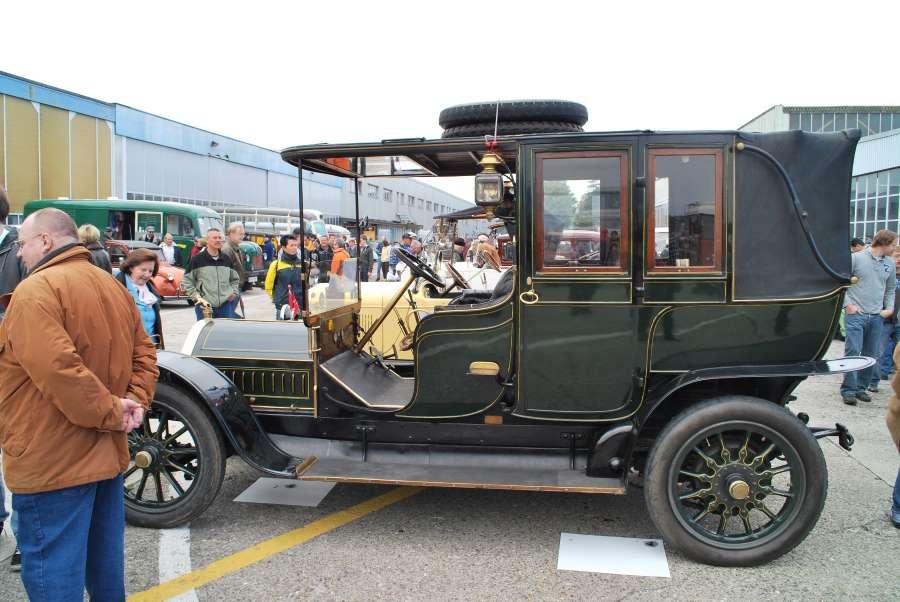 Kettengetriebener Luxus im Jahr 1908: Typ 92 D