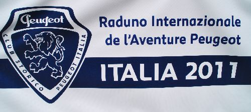 Logo Internationales L'Aventure- Peugeot-Treffen in Salsomaggiore Terme/Italien vom 13. - 15.5.2011