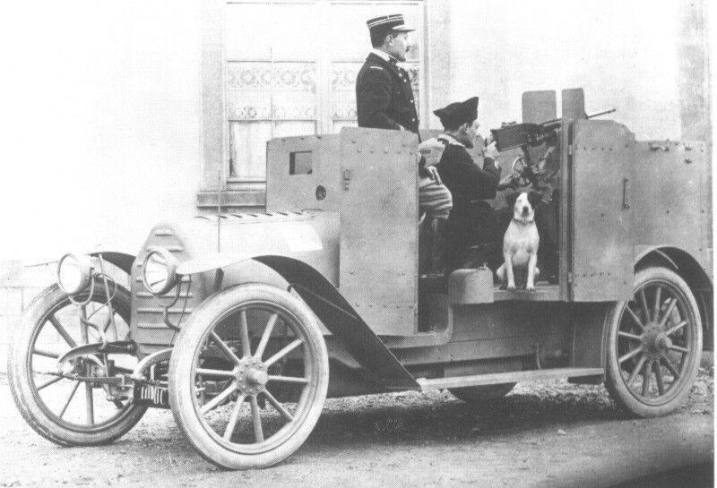 Kampfwagen Peugeot 1914 AM