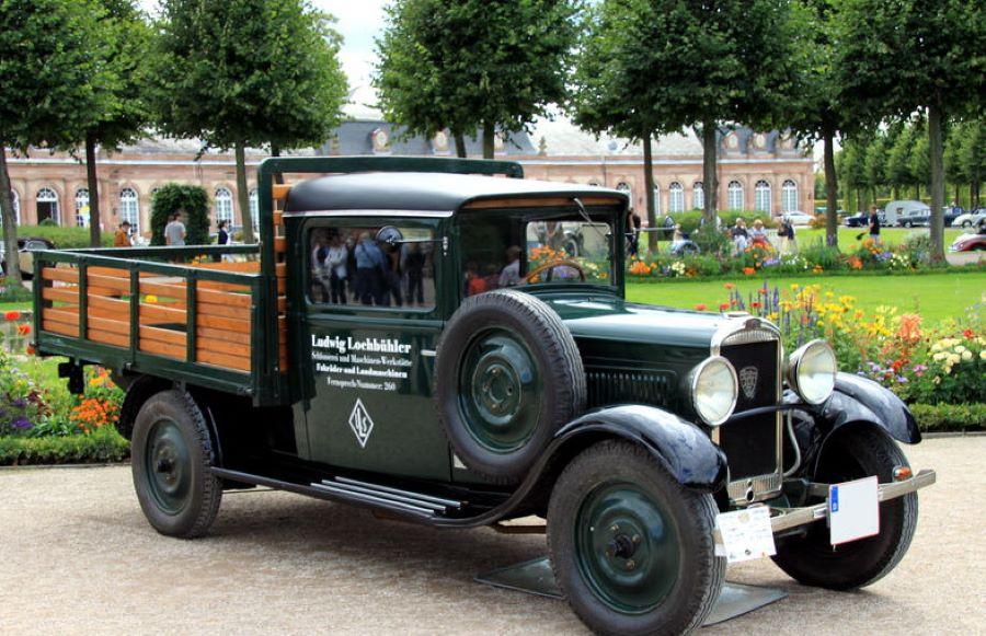 Der Kleinwagen als LKW - 201 T