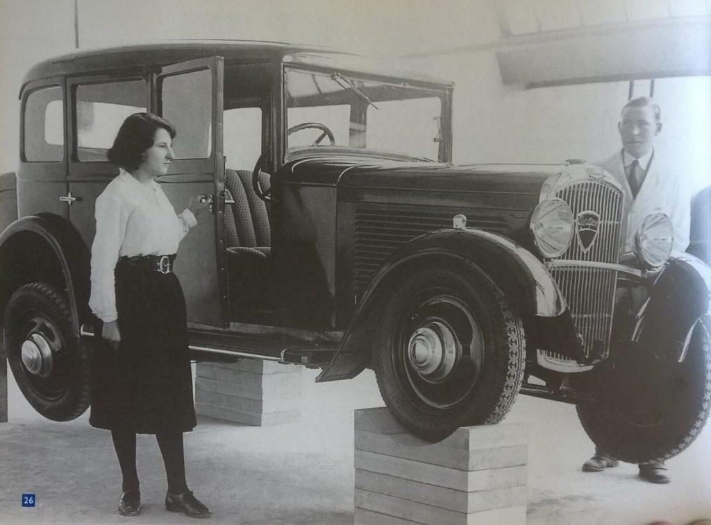 Einzelradaufhängung im 201 C ab 1931- zeitgenössische Aufnahme