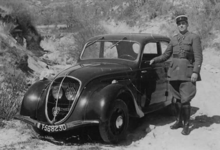 Einsatz in Tunesien in den späten 1940ern mit dem 202