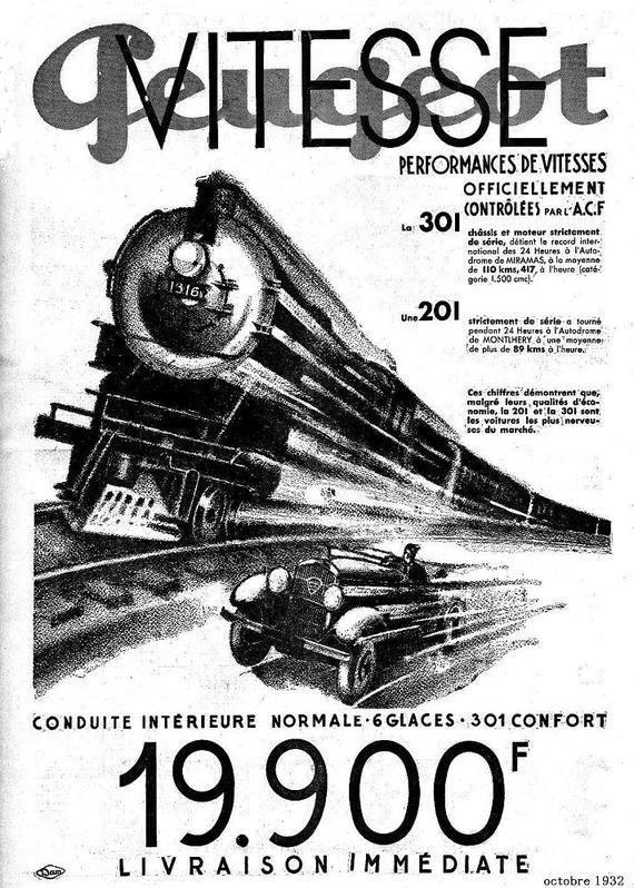 Werbung 201/301 aus dem Jahr 1932