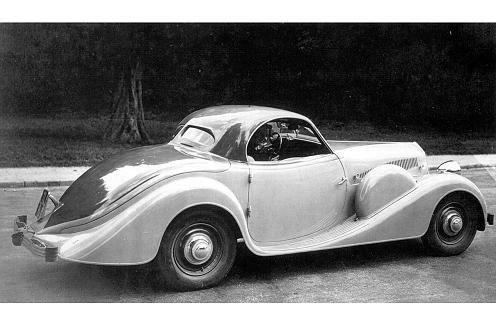 Prototyp auf Basis des Peugeot 301 - gebaut 1933 von Carosserie Portout nach Plänen von Georges Paulin