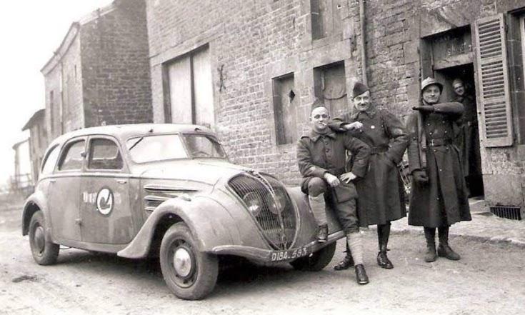 Peugeot in miltärischer Nutzung