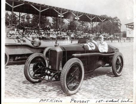 Art Klein im L 46 - Indianapolis 1919