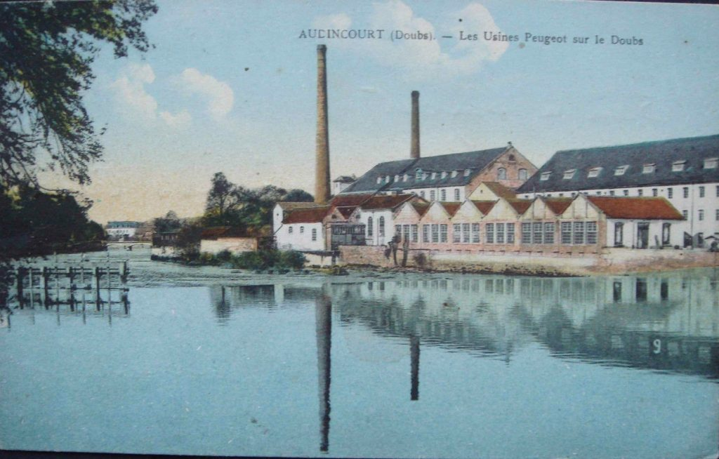Peugeot-Werk Audincourt ca. 1900