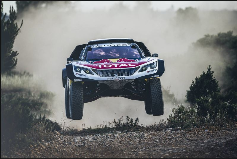 Cyril Despres auf Peugeot 3008 DKR