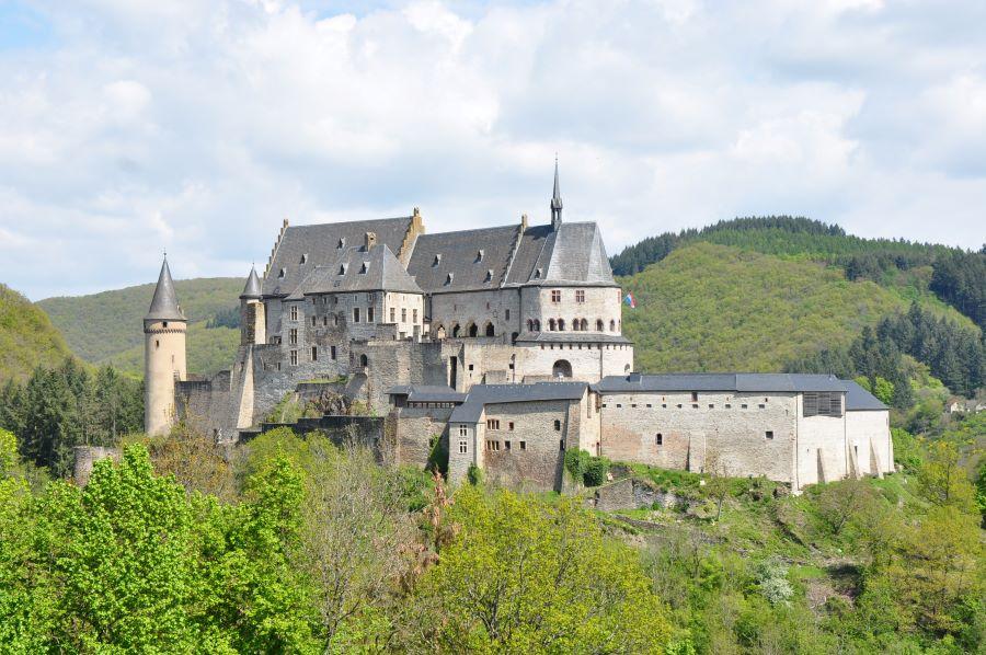 Burg Vianden - gutes Wetter auf dem Rückweg
