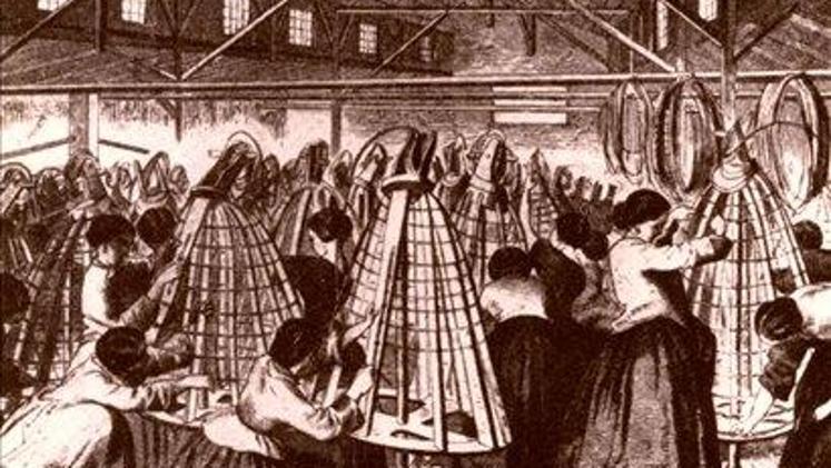 Herstellung von Accessoires für die Damenmode bei Peugeot