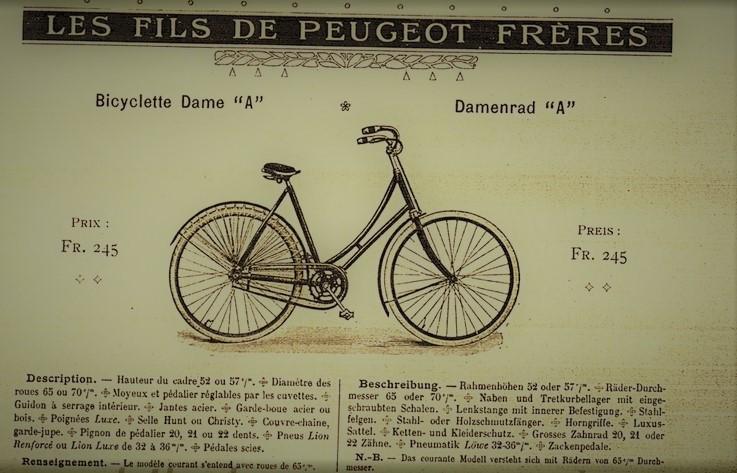 Annonce aus dem Jahr 1906