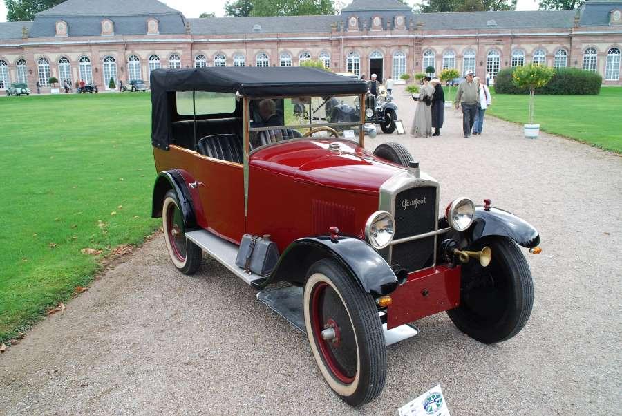 Quadrilette Typ 172 M - aus dem Jahr 1927 als Cabriolet