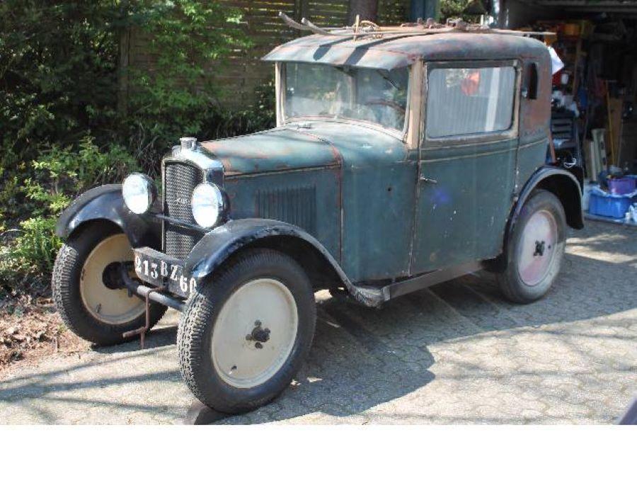 Und noch ein 1927er Typ 172 M - diesmal als Faux-Cabrio