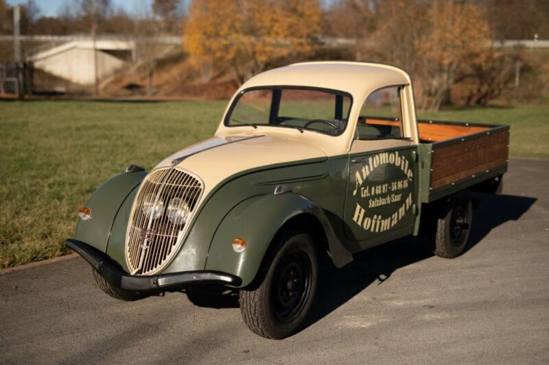Peugeot Typ 202 UH nach der Restauration