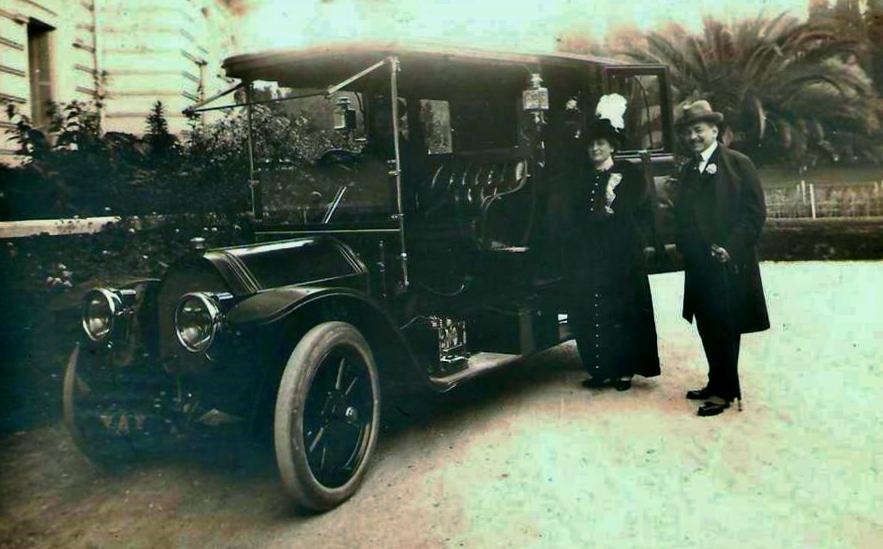 1907 - ein Typ 95; wo bleibt denn nur der Fahrer?