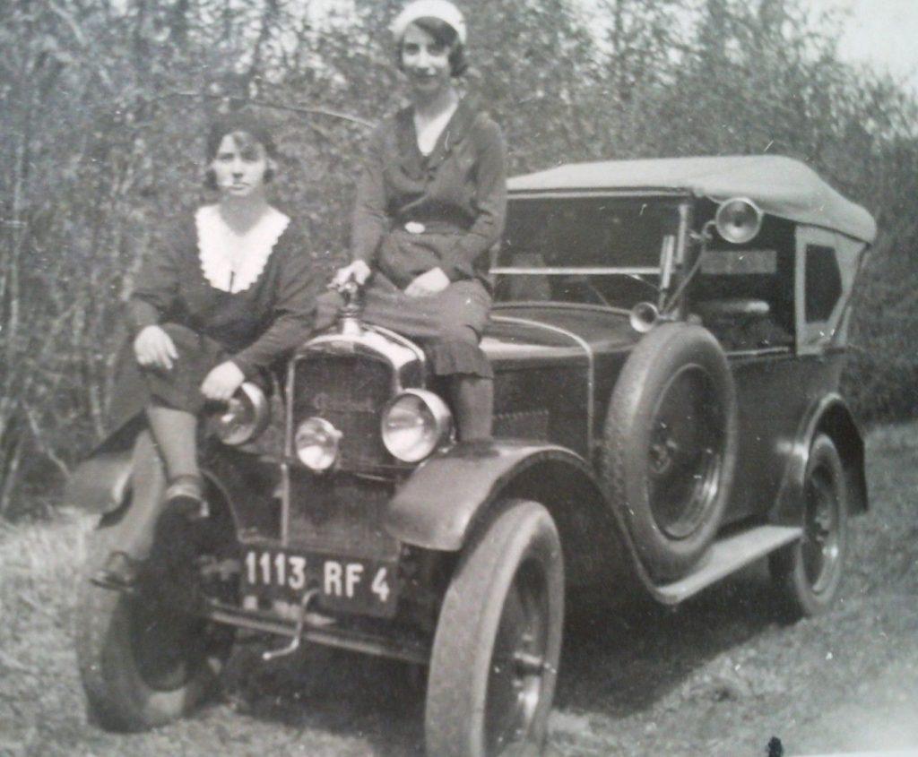 Damenausflug mit dem Typ 163