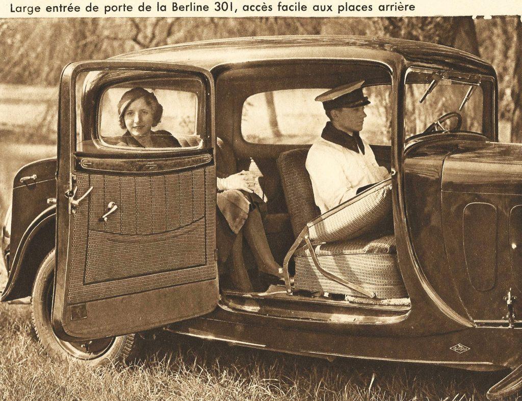 Peugeot Typ 301 Berline