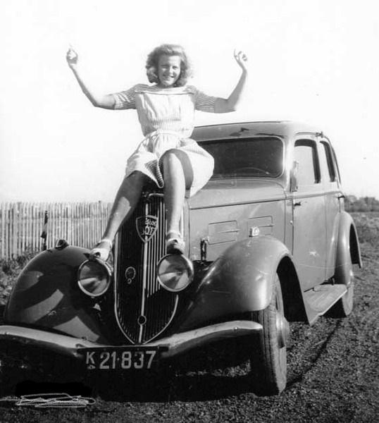 Peugeot 301 im Jahr 1936
