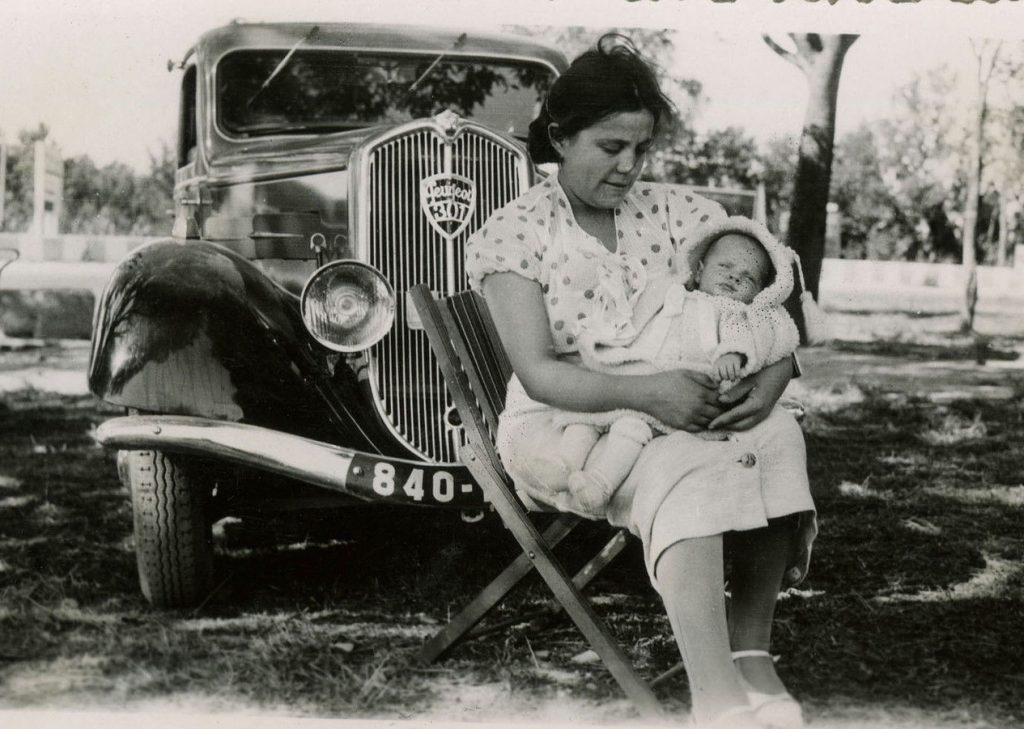 und nochmals ein Familienausflug - mit dem 301 - im Sommer 1937