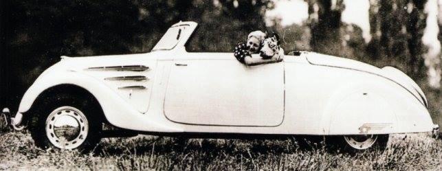 Peugeot 402 Eclipse 2-Sitzer (Typ E4)   - Foto von 1936