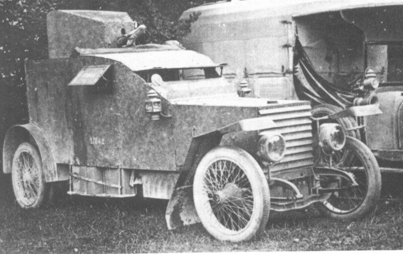 Peugeot 1914 AC - gepanzerte Version