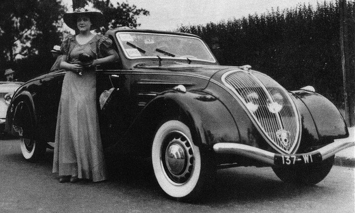 Peugeot 402 Cabriolet - Foto von 1936