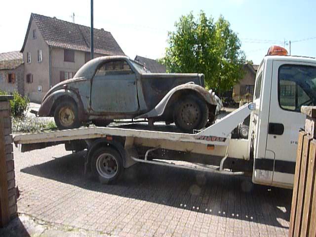 Peugeot 301 vor Restauration