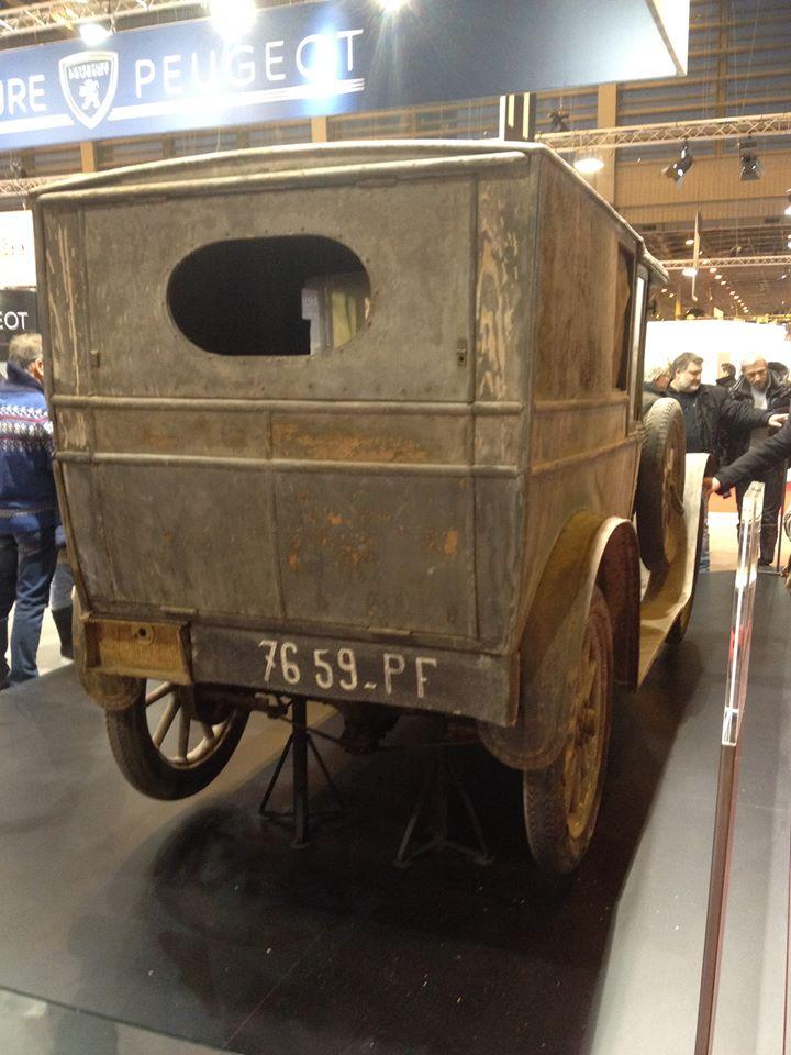 Peugeot Type 163 Fourgonette aus dem Jahr 1922