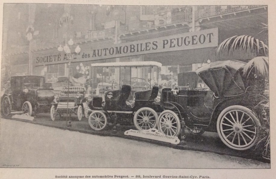 Salon de Automobile 1901