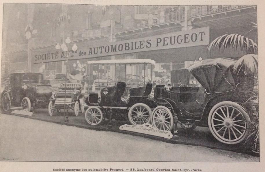 Salon de Automobile 1901