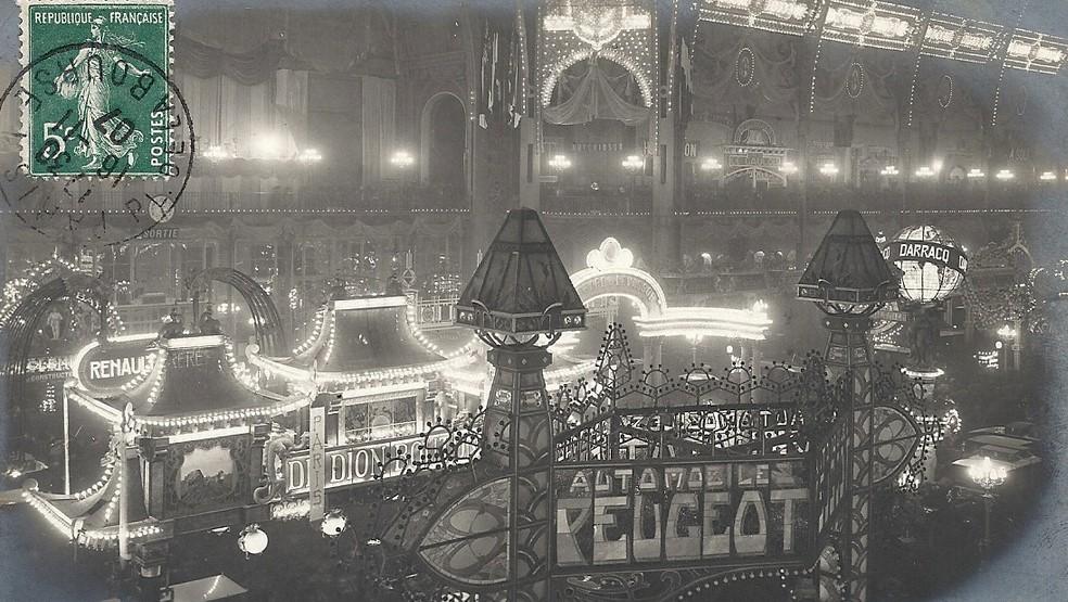 1907 - Gleicher Stand aus anderer Perspektive