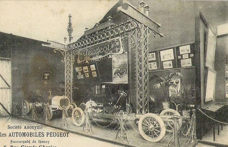 1910 - Ausstellung in Nacy