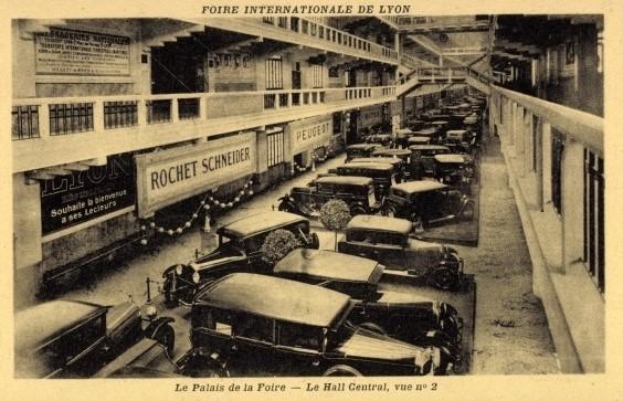 ca. 1920 - Foire Internationale de Lyon