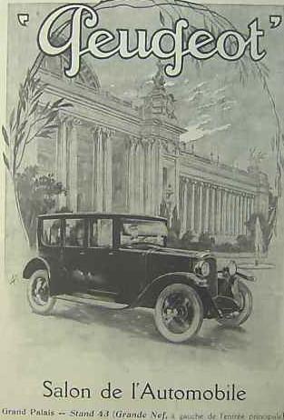 Werbung für den Salon 1923