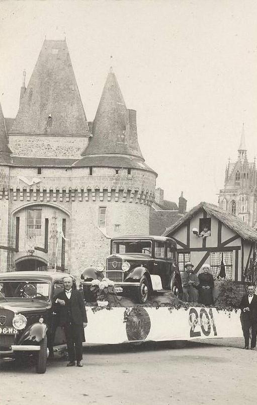 Präsentation des 201 in La Ferte Bernand - 1929