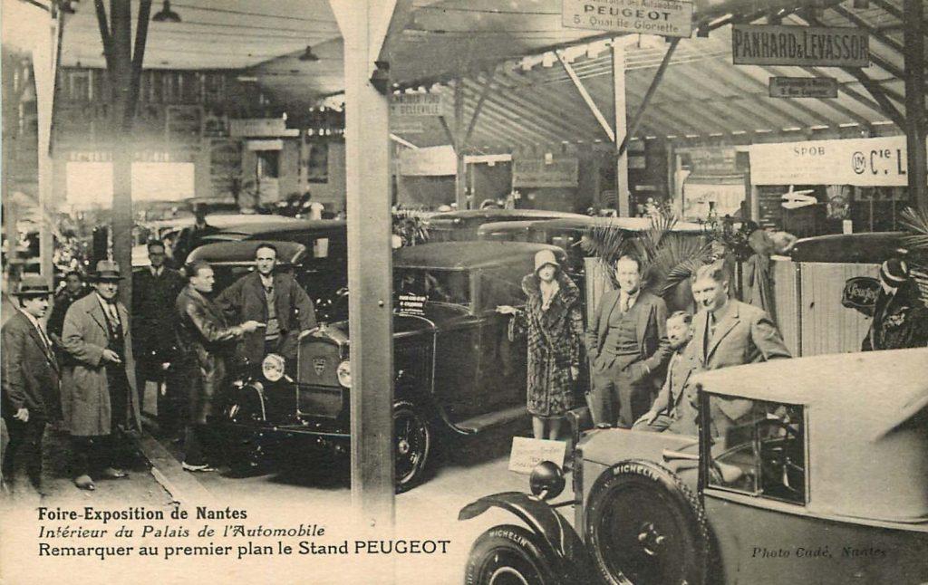 1929 - der 201 auf der Messe in Nantes