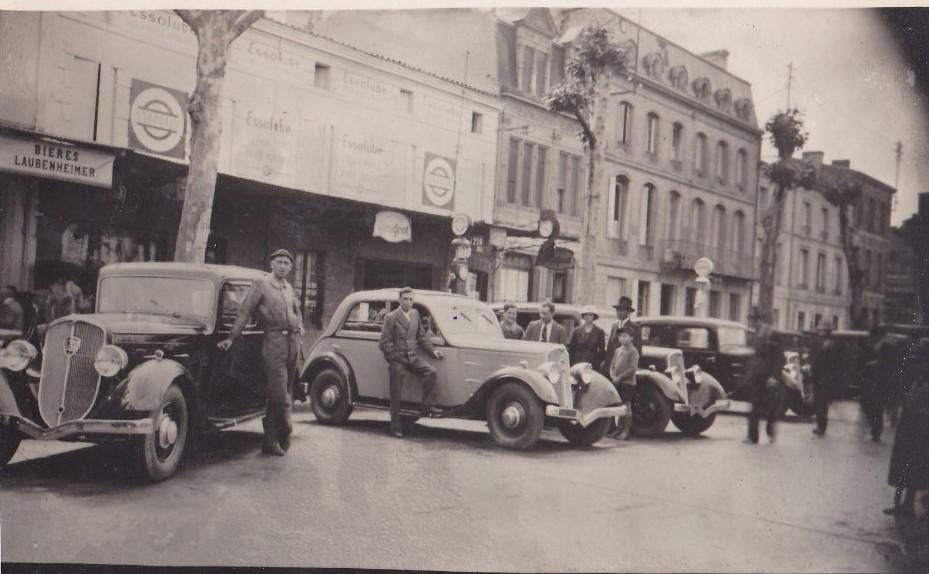 1933 - Vorstellung des 301 in Marmande