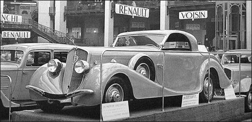 incl. Peugeot 601 Eclipse (1935)