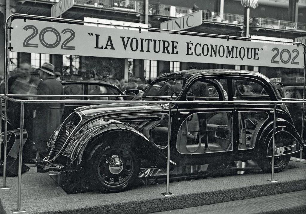 1938 - Premiere des 202