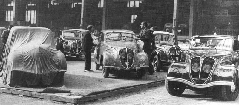 1946 - nach 5 Jahren Kriegspause Neustart mit den Vorkriegsmodellen 202 und 402 B