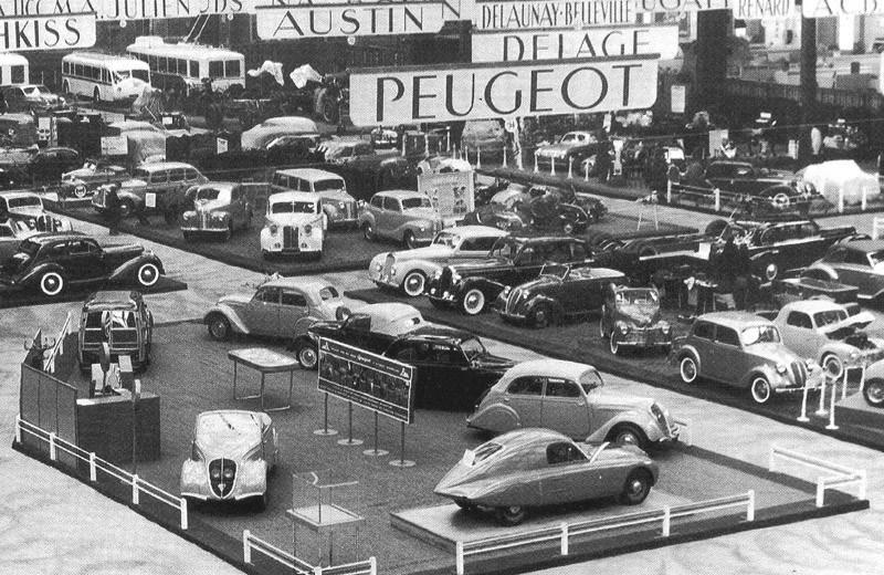 1947 - die komplette 202-Palette incl. Stromlinien-Rennwagen