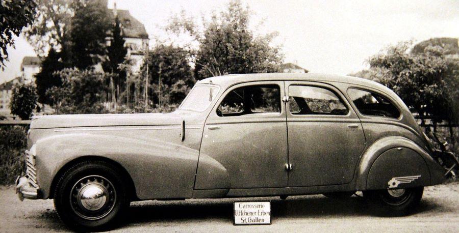 Peugeot 402 / 203 - Karosserie Höhener