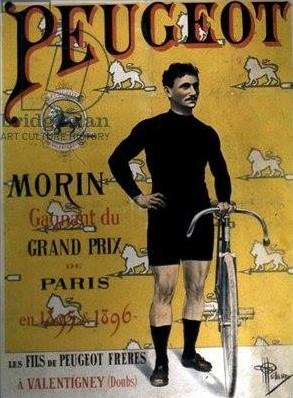 Peugeot-Werbung 1896