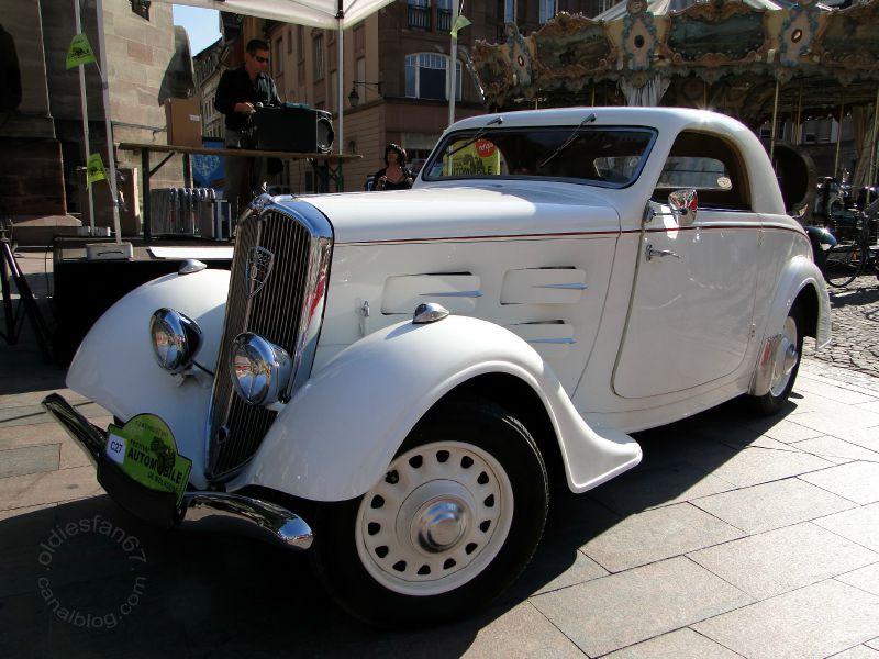 Peugeot 301 nach Restauration