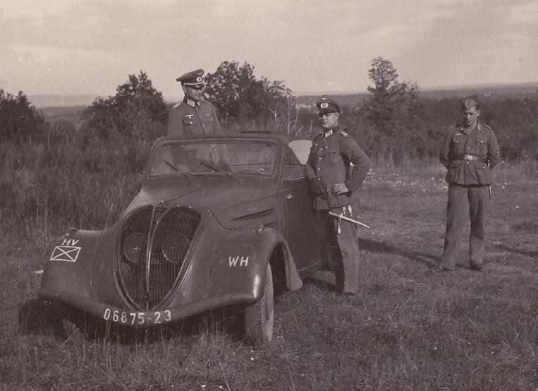 Cabrio 402 B beim Heer