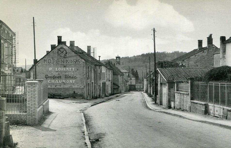 Peugeot Werbung in Andelott-Blancheville