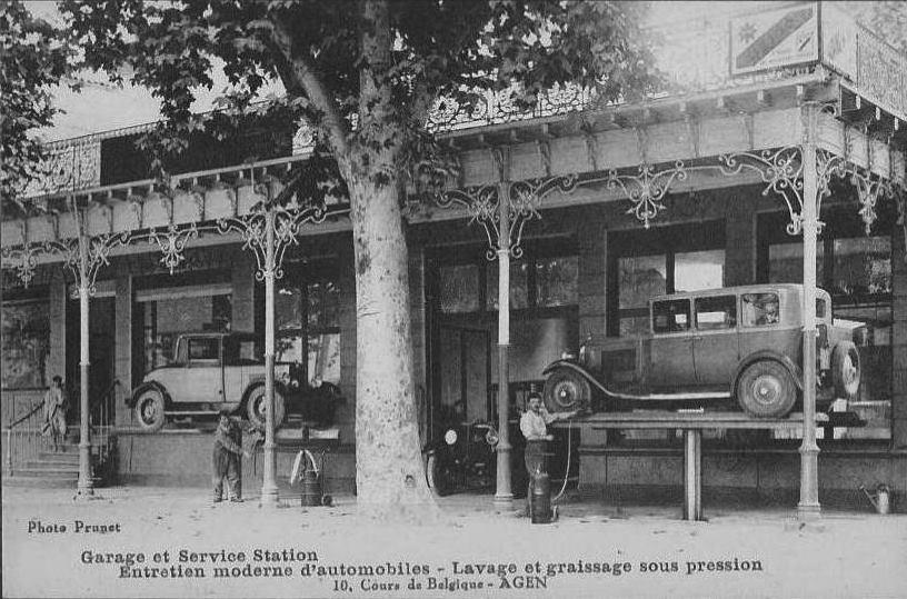 Agen - 1920er - Typ 172 und 183