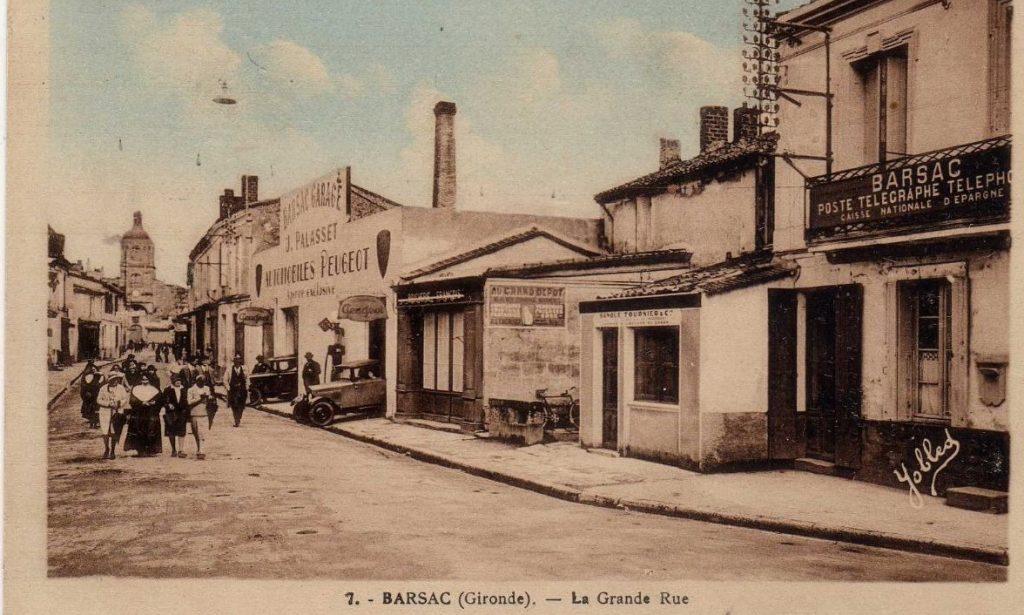 Barsac - Ende der 1920er