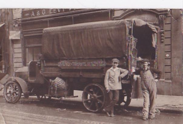 Lieferwagen Typ 1525, 1915, Nutzlast 4.000 KG