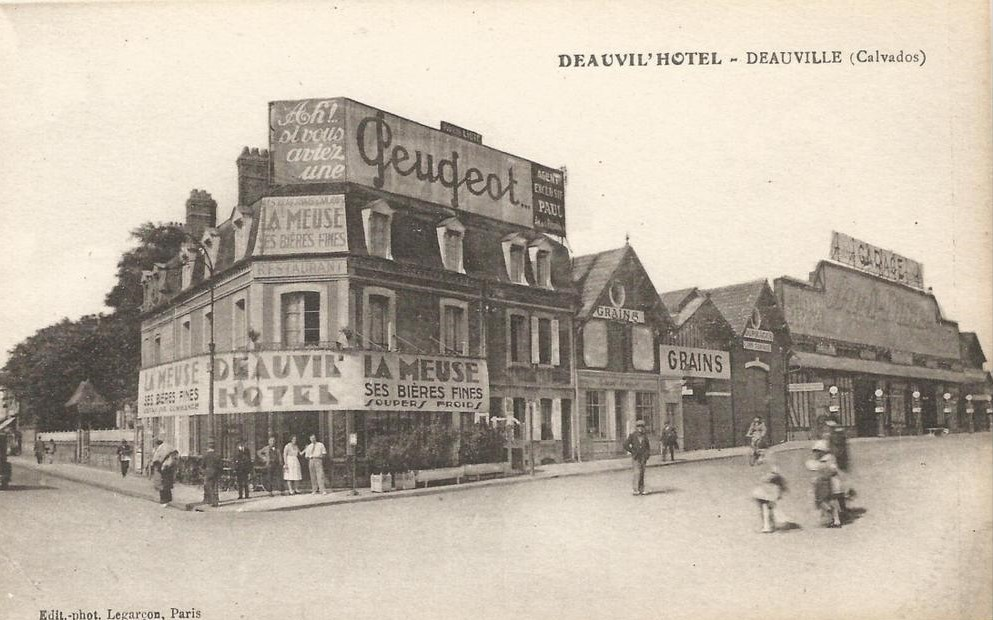 Peugeot Werbung in Deauville